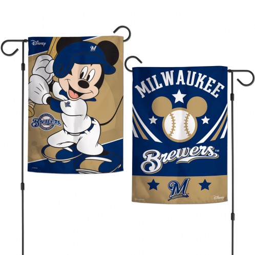 Milwaukee Brewers Garden Flag - Mickey