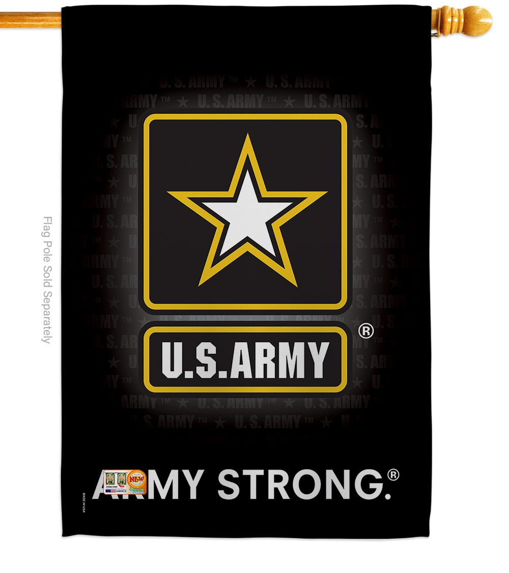 House Flag - Army Strong