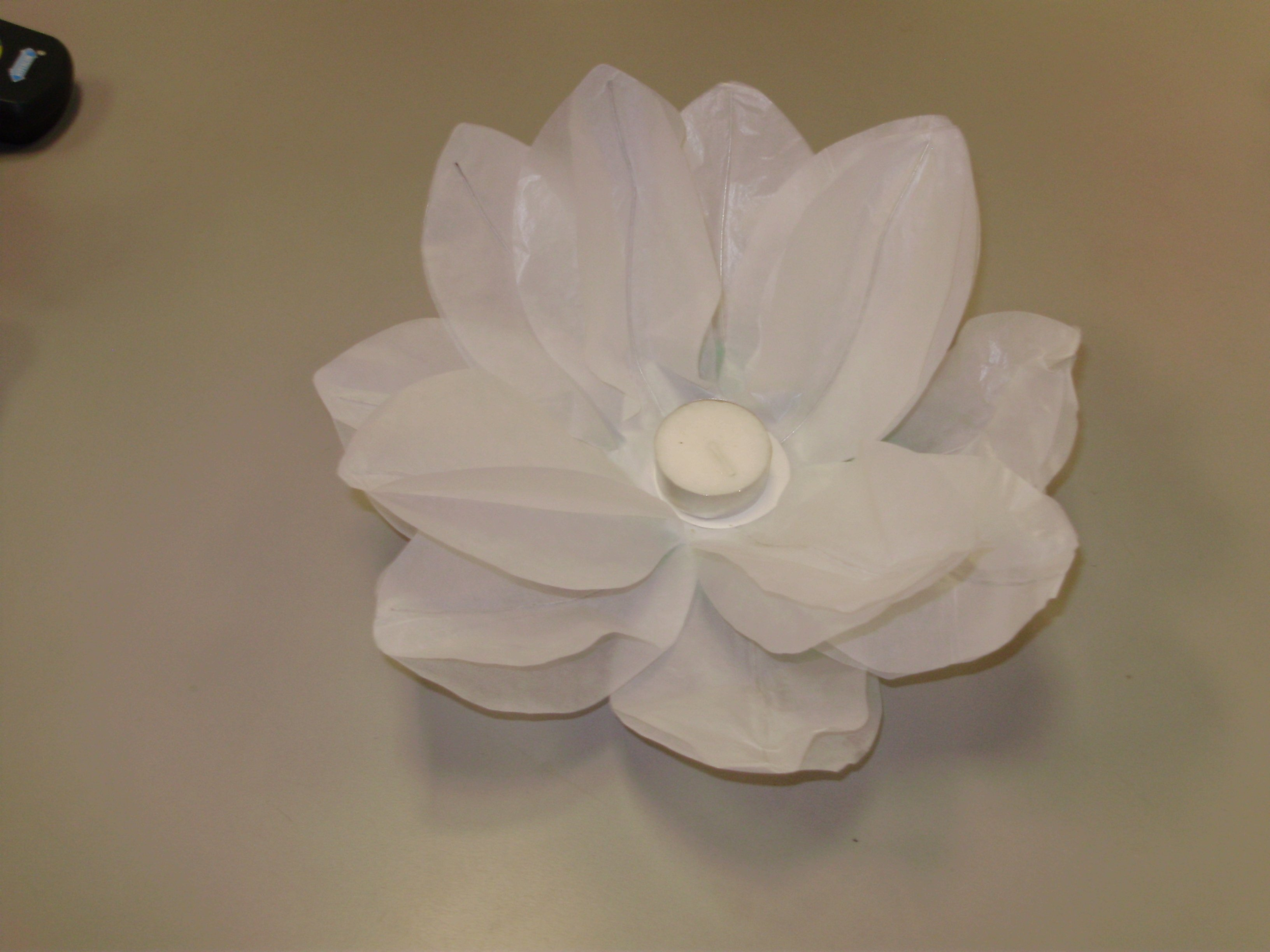 Water Lantern - White Lotus