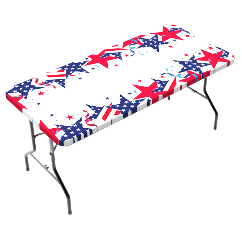 Tablecloth - Patriotic Stars