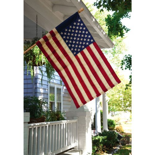 US Tea Stained House Flag
