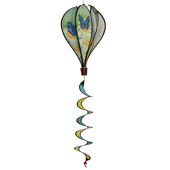 "16"" Blue Butterfly Hot Air Balloon"