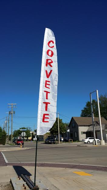 12ft. CORVETTE Custom Banner