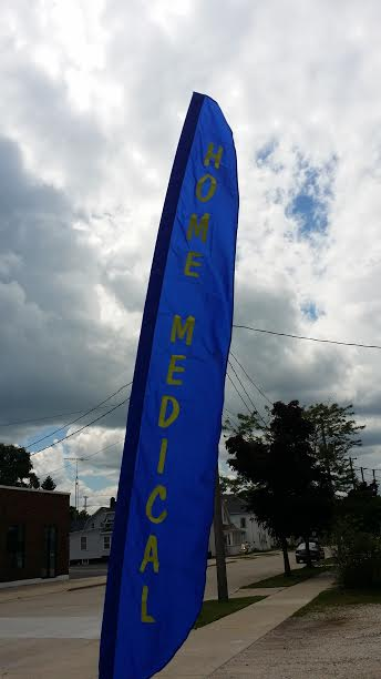 12ft. HOME MEDICAL Custom Banner