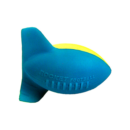 Aerobie Rocket Football - Blue and Yellow
