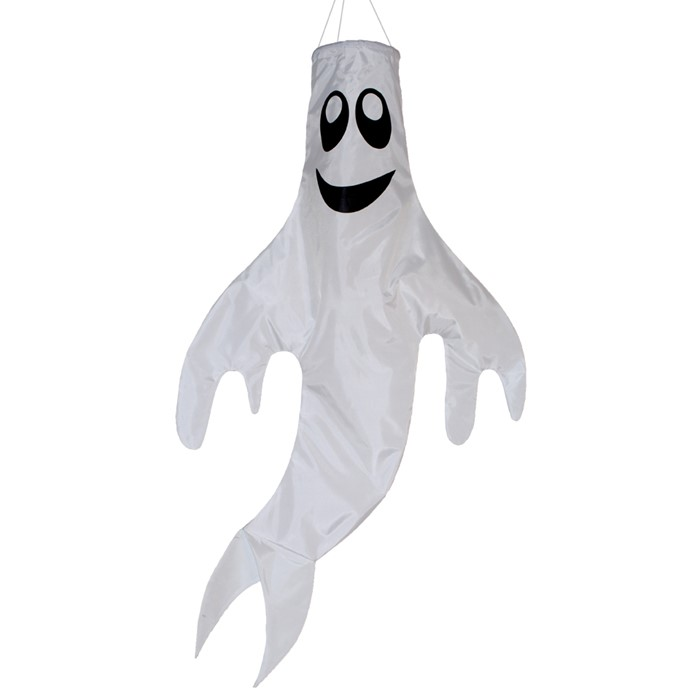 Halloween - Ghost 3D Windsock Large