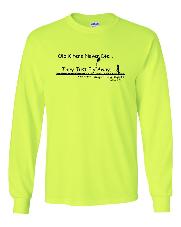 Old Kiters Never Die - Long Sleeve