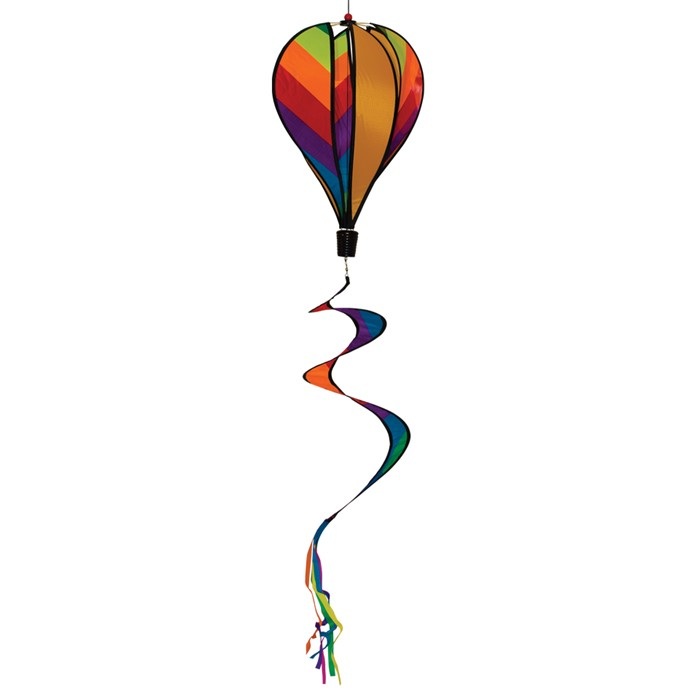"16"" Rainbow Stripe Hot Air Balloon"