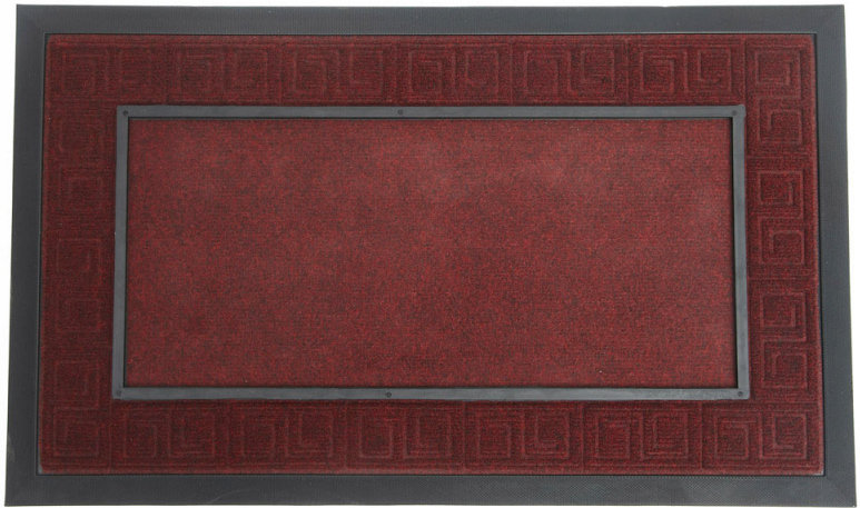 Scroll Mat Frame - Burgundy