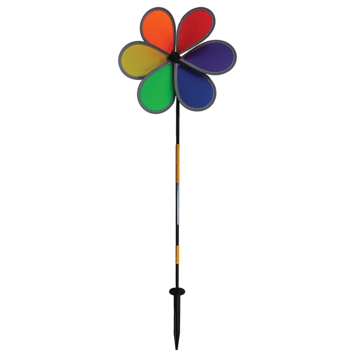 "12"" Retroreflective Rainbow Flower"