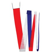 32' Streamer Tail - Red, White and Blue