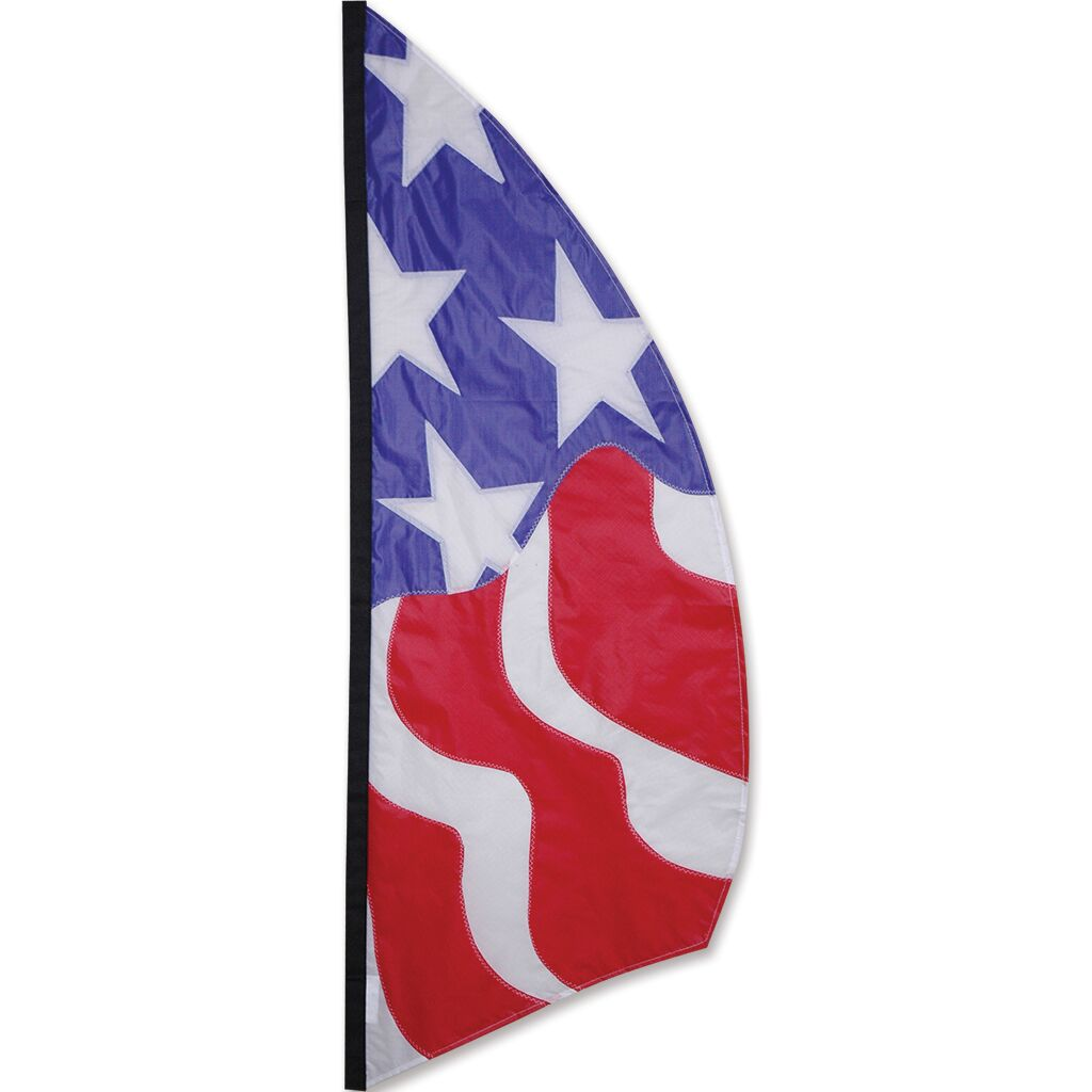 Patriotic 8.5' Feather Banner